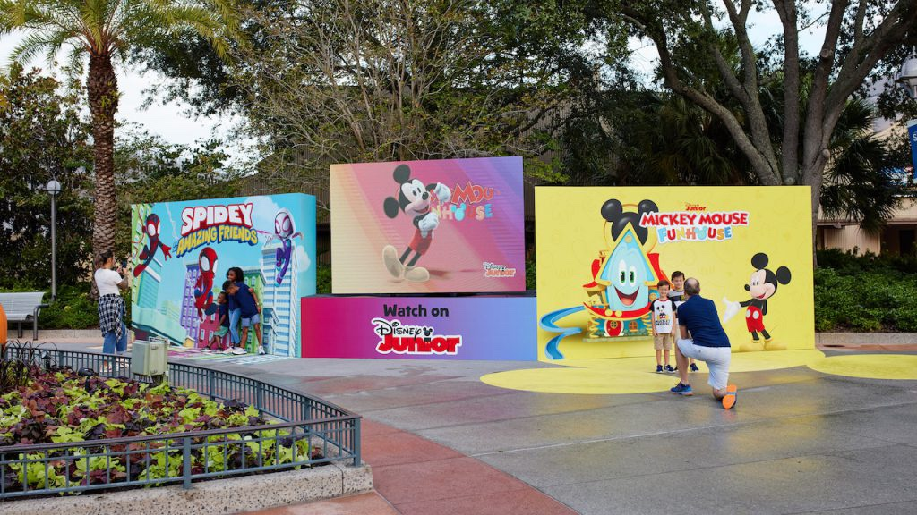 Don't Miss This Fun Disney Junior Photo Op In Disney Springs!