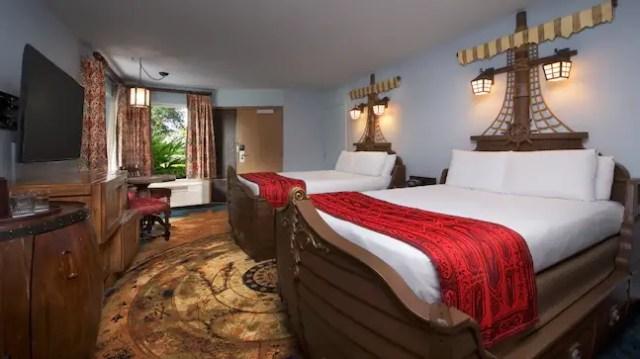 Disney's Caribbean Beach Resort planDisney Pocket Guide 1
