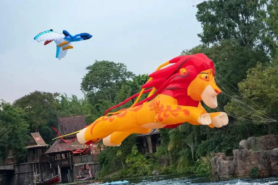 Celebrating Disney World 50th Anniversary At Disney's Animal Kingdom