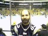 Mike at the bruins