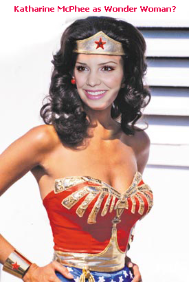 Katharine McPhee as Wonder Woman