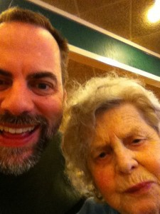 Mom and Me, March 2011