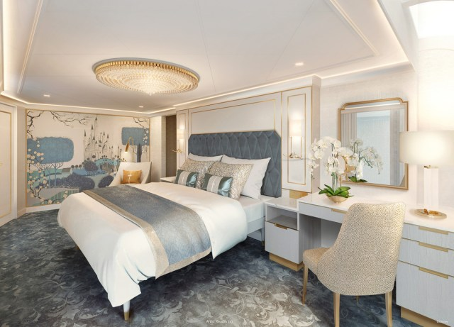 Disney Wish: The Grand Reveal of the Staterooms and Concierge Spaces • The  Disney Cruise Line Blog