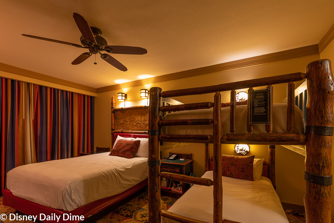 Wilderness Lodge Bunk Bed Room Review Disney Daily Dime