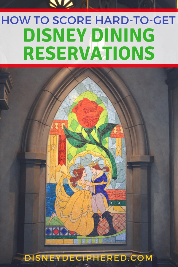 Visiting Disney World and dying to know how to score that hard-to-get dining reservation? Insider secrets from Disney experts on the most popular Disney restaurants. #disney #disneyworld #disneydining #disneysecrets