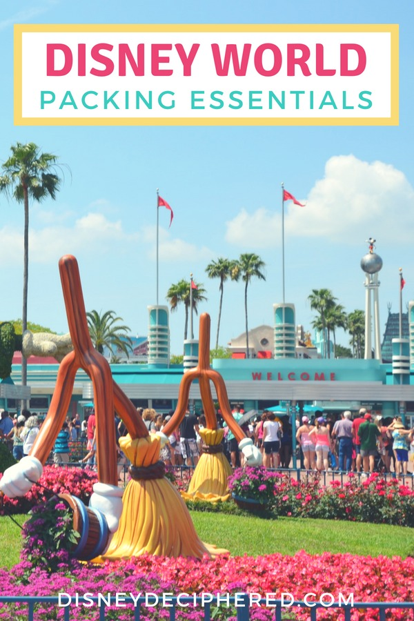 What to pack for a Walt Disney World vacation. Essential items to add to your Disney packing list plus packing tips for every season. #disney #disneyworld #packinglist #disneysmmc