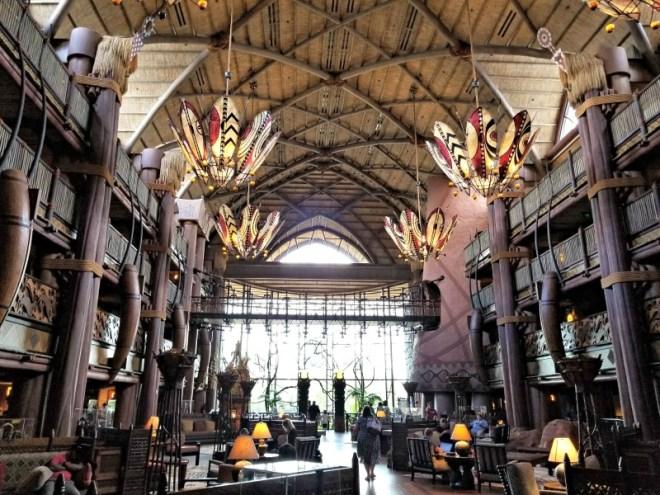 Disney Hotels 101 - Animal Kingdom Lodge, a Disney deluxe resort.