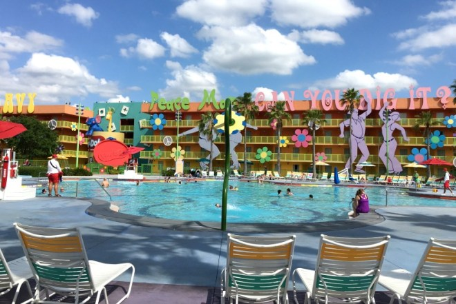 Disney World Hotels 101 - Pop Century Pool