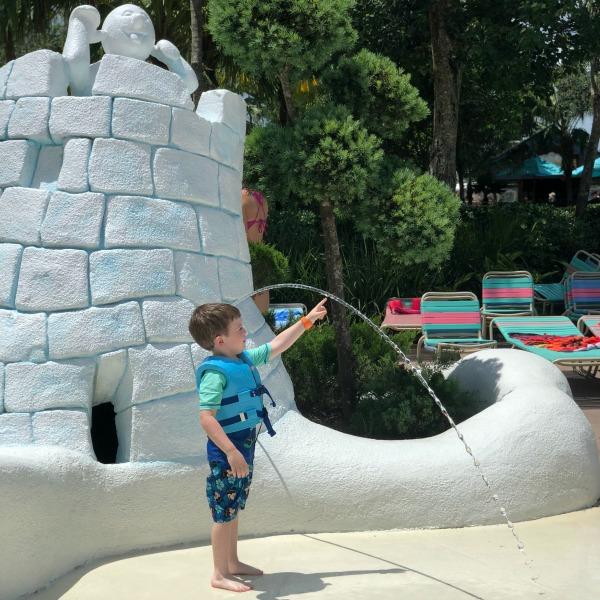 Disneys Blizzard Beach - Toddler at Tikes Peak