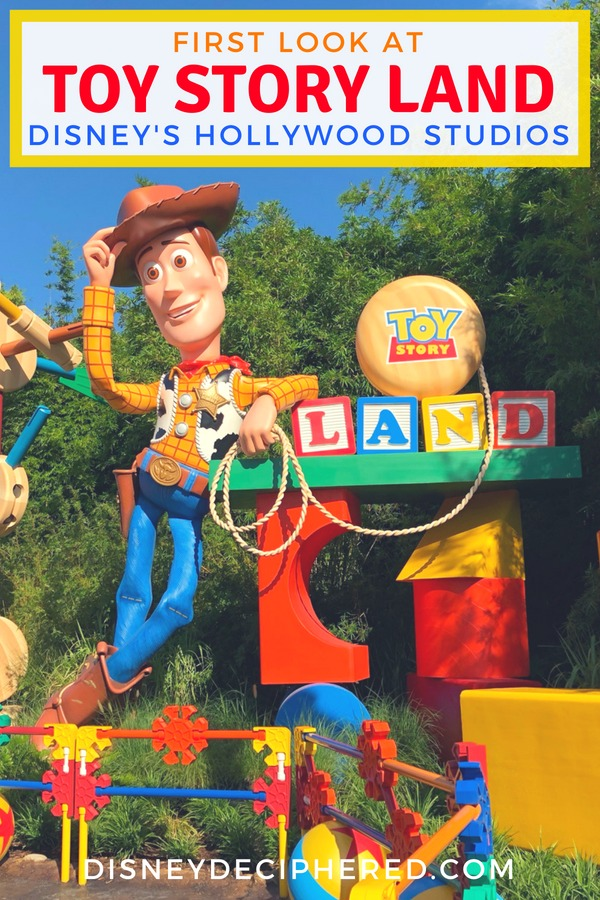 First look at Toy Story Land in Disney's Hollywood Studios. Ride guides, Woody's Lunch Box food reviews, and tips for dodging the crowds in the opening months. #toystoryland #TMOMDisney #TDADDisney #hollywoodstudios