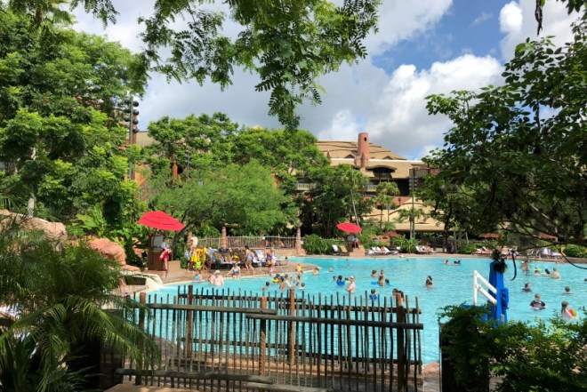 Animal Kingdom Lodge 101 - Pool