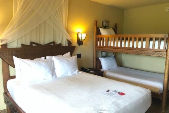 Animal Kingdom Lodge 101 - Queen Bunk Room