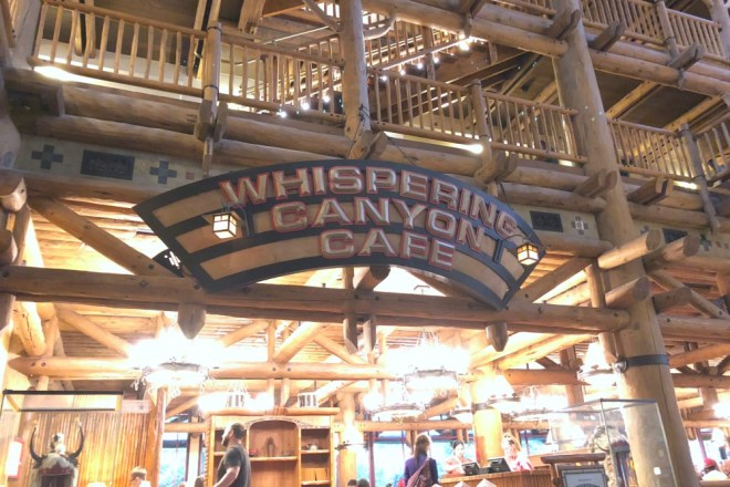 Interactive Dining - Whispering Canyon
