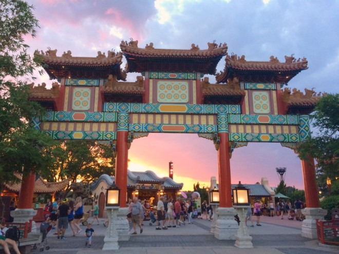 Epcot China Pavilion