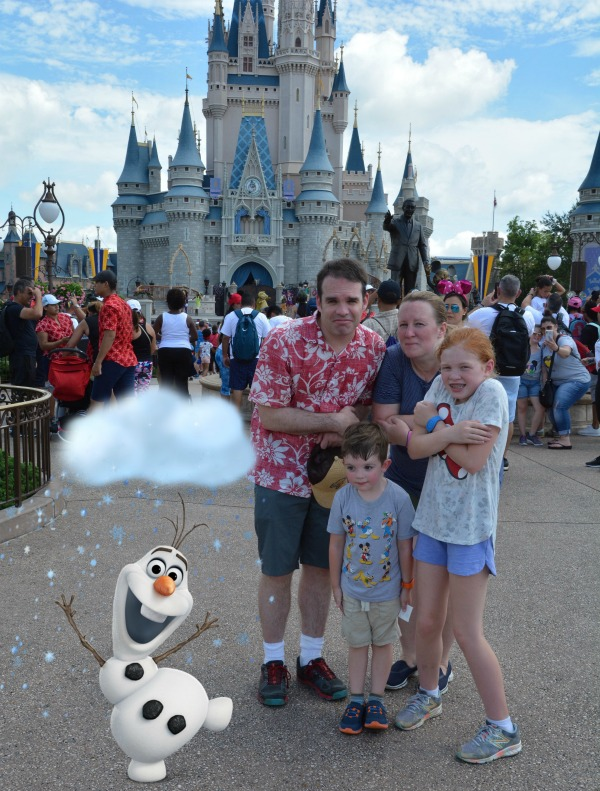 Memory Maker Magic Shot Olaf