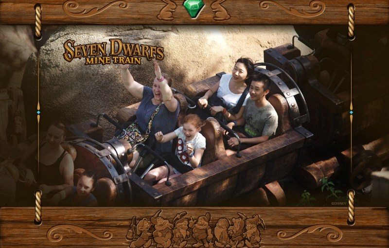 Memory Maker Seven Dwarfs Mine Train