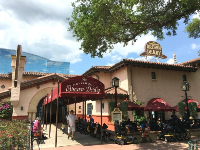 Disney Date Night - Brown Derby