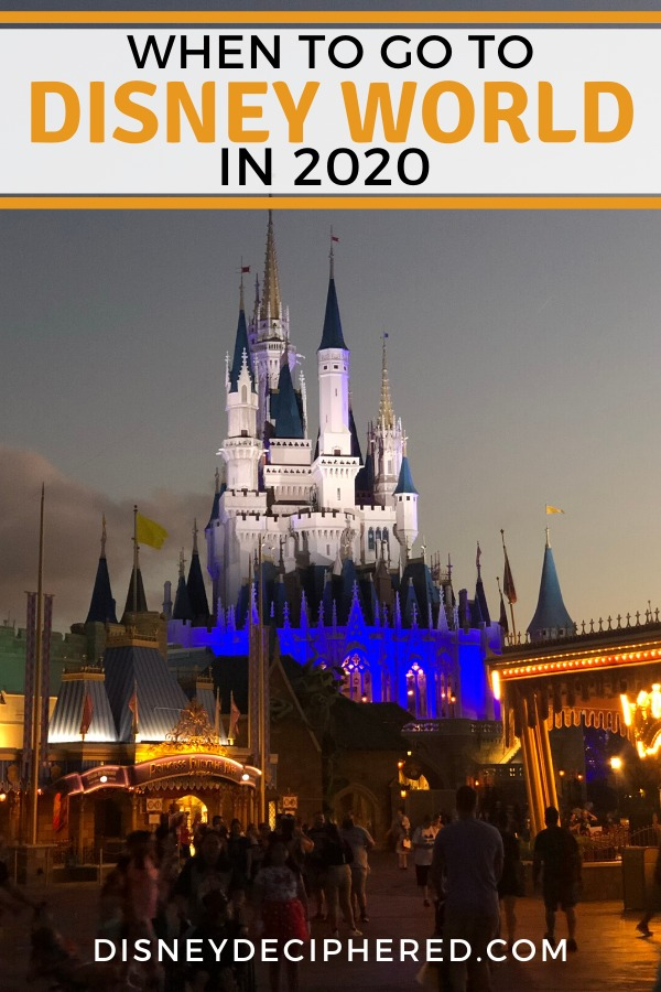 When to go to Walt Disney World in 2020. Tips and secrets for finding the time with the lowest crowds and best price deals. Plus all the scoop on ride opening dates, from Mickey & Minnie's Runaway Railway to Remy's Ratatouille Adventure. #disneyworld #disney
