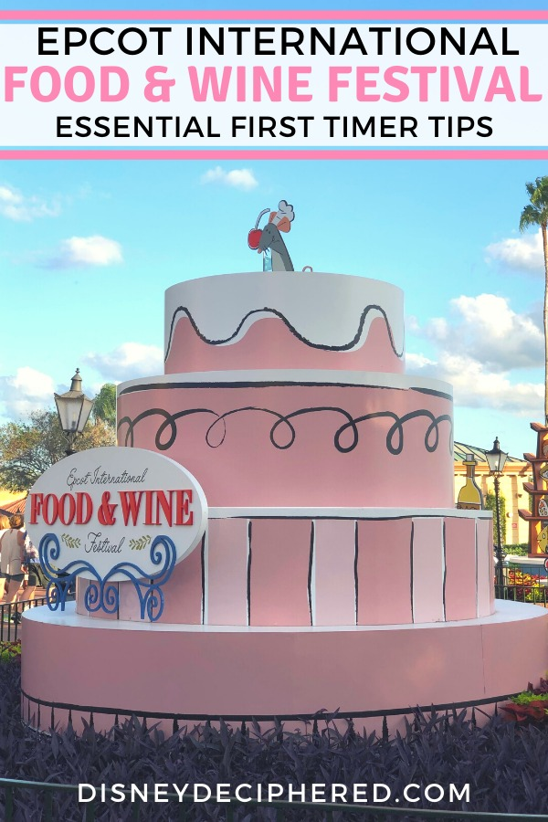 First timer tips for the Epcot International Food & Wine Festival at Walt Disney World? Essential advice on when to go, what to eat, and what to do at this festival held every fall. #epcot #foodandwine #tasteepcot #disneyworld