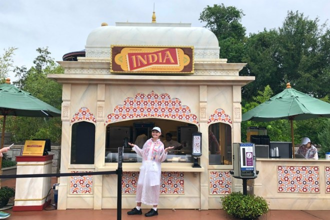 Epcot International Food and Wine Festival India Global Marketplace Kiosk
