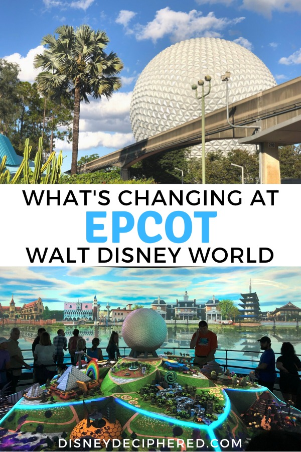 What's closing and what's new at Epcot. With the park under heavy construction in 2020 & 2021, should you visit now or postpone? Get tips and touring strategies for Epcot in flux and sneak a peek at all the new rides and attractions coming soon. #epcot #disney #disneyworld