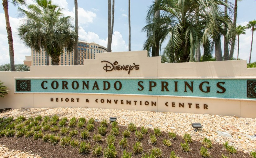 Coronado Springs Entrance and Sign