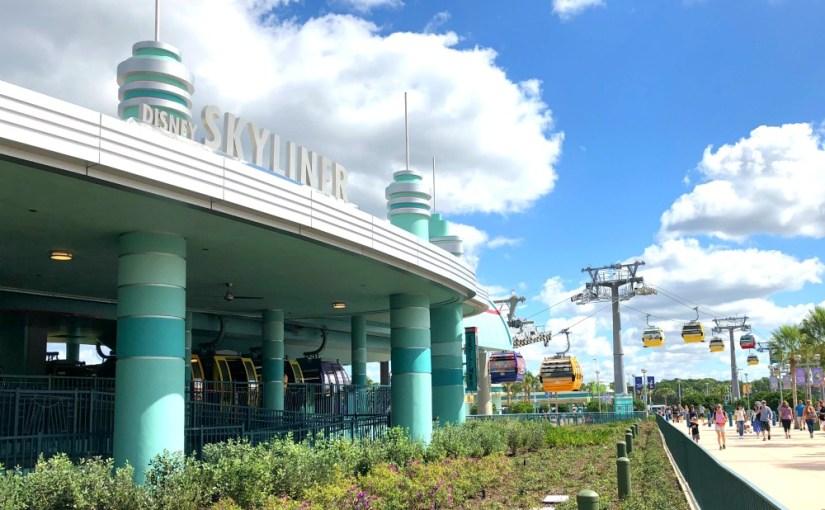 Disney Skyliner Station at Hollywood Studios