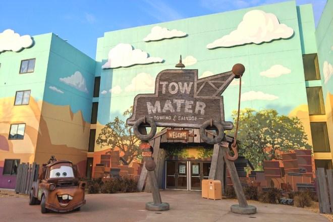 Disneys Art of Animation Cars Theming