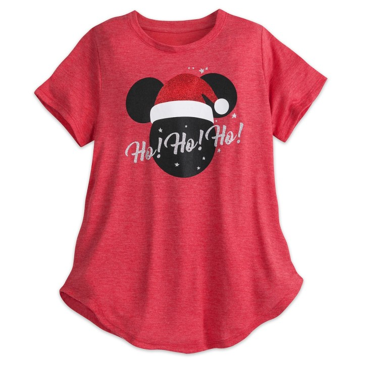 Glittery Mickey Mouse icon holiday t-shirt