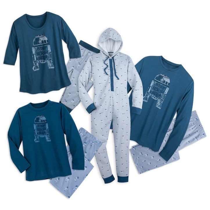R2-D2 family pajama collection from Munki Munki