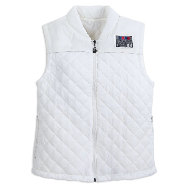 Princess Leia down vest by Her Universe