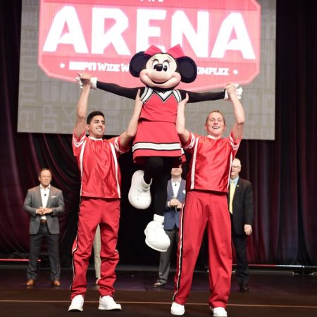 New sports arena opens at Disney World