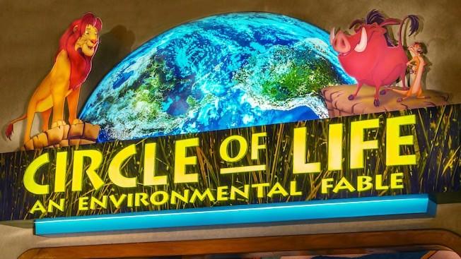 Circle of Life at Epcot in Disney World closing