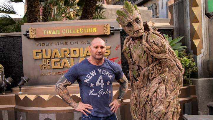 Guardians of the Galaxy Dave Bautista