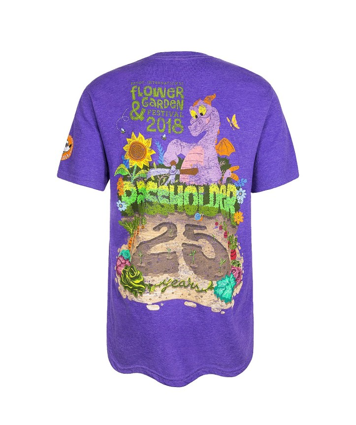 2018 Epcot Flower and Garden Passholder t-shirt
