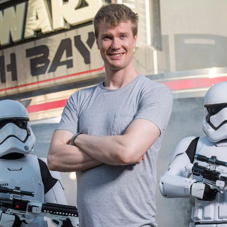 Joonas Suotamo, who plays Chewbacca in the new Solo: A Star Wars Story film visits Disney World.