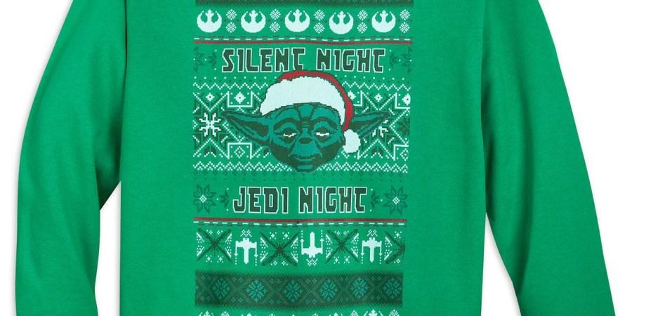 523e38053e7f Star Wars  ugly holiday sweater  sweatshirts are here - Disney Diary