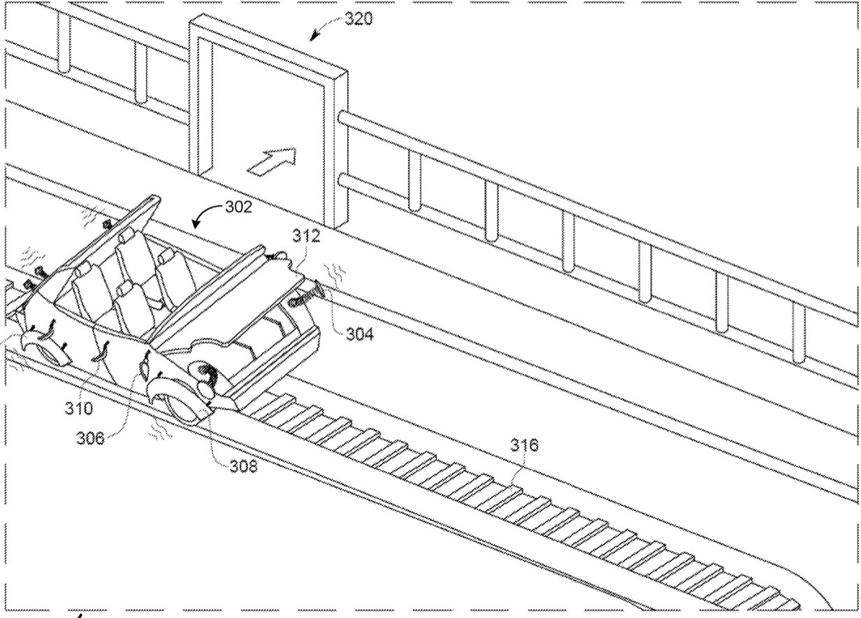 Disney files patent for a transformable attraction ride vehicle