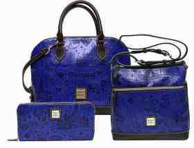 Disneyland 60th Anniversary Blue Leather Collection