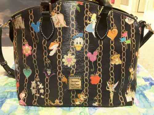 Black Charms Satchel