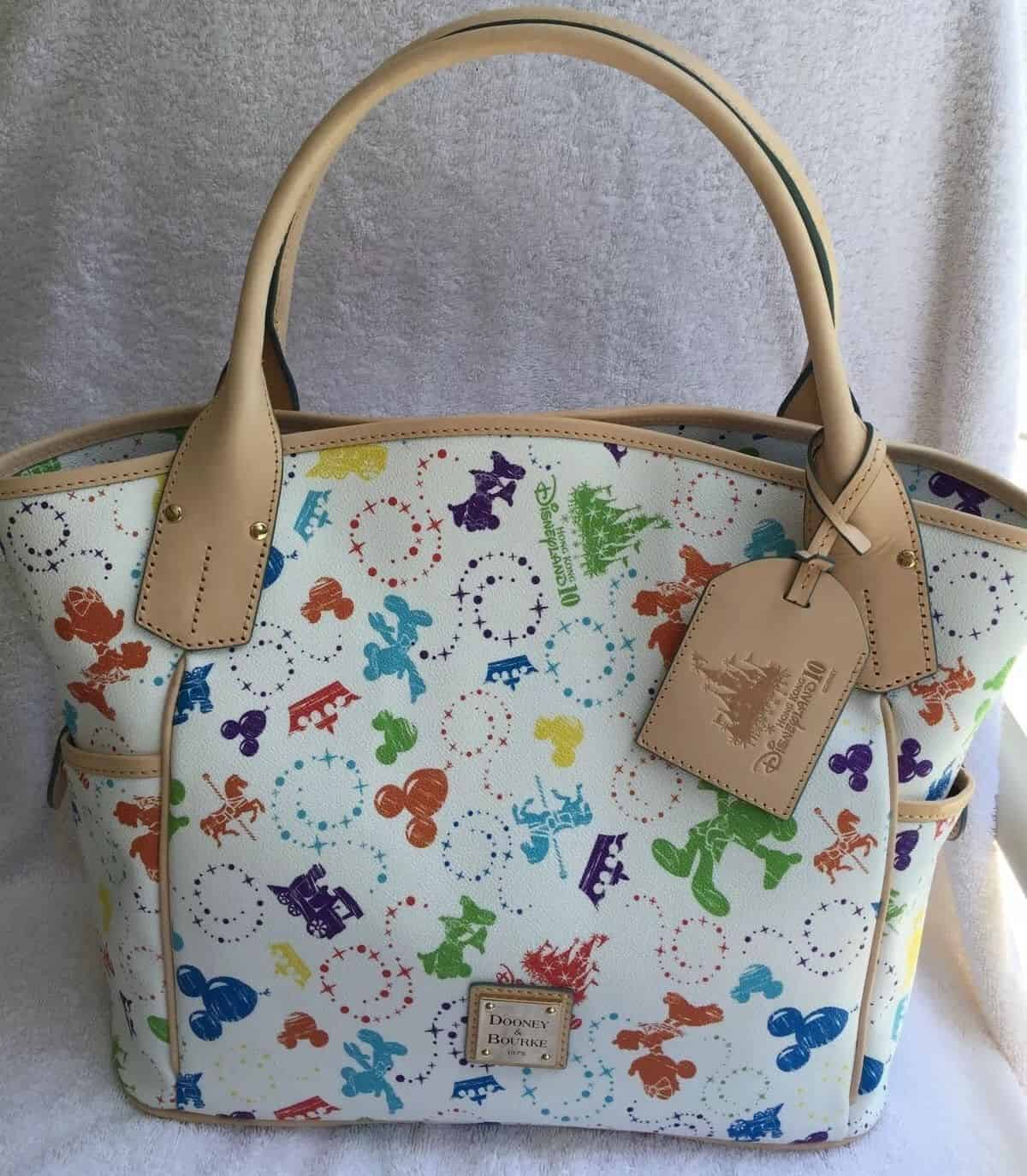 Disney Dooney And Bourke Hong Kong Disneyland 10th