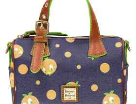 Orange Bird Satchel