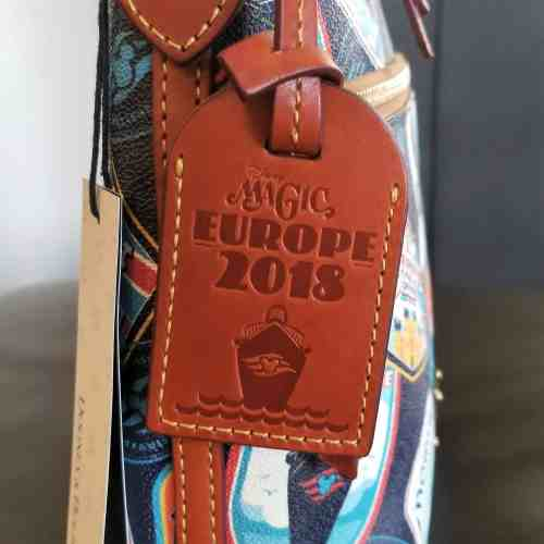 DCL Europe 2018 Leather Tag