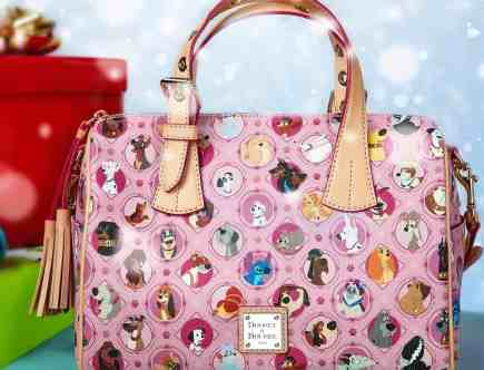 Pink Disney Dogs Satchel