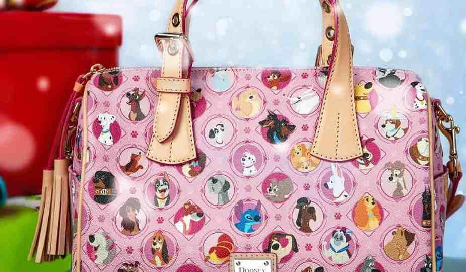 Pink Disney Dogs Satchel