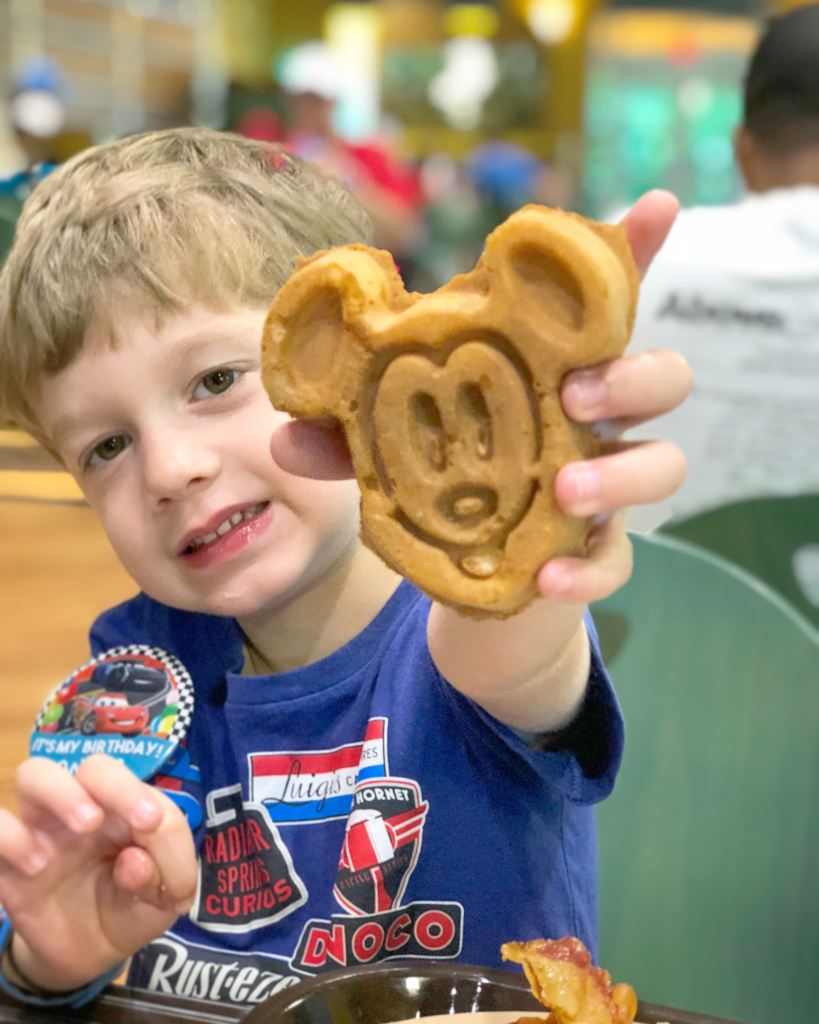 Disney World Breakfast