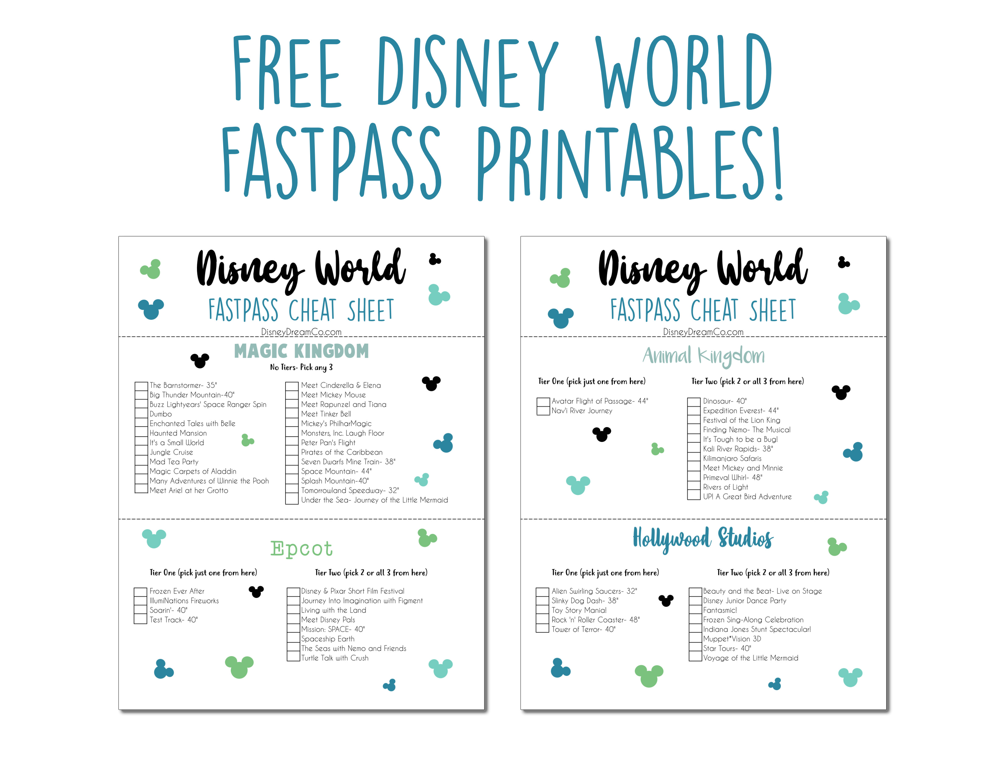 image relating to Printable Guide titled FastP WDW Expert, Recommendations + Cost-free Printable Sheet - Disney