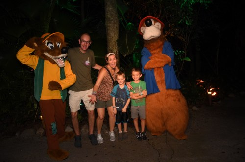 Rare Characters, vacations for families