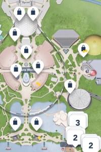 Passholder magnet locations