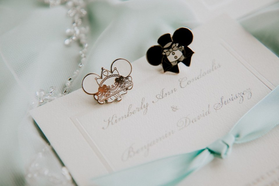 Disney Wedding - Invitation